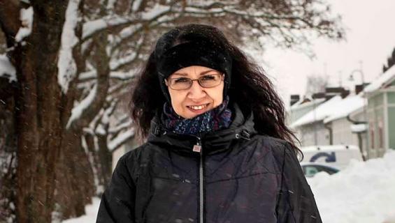 Marita Lammi laihdutti 57 kiloa.