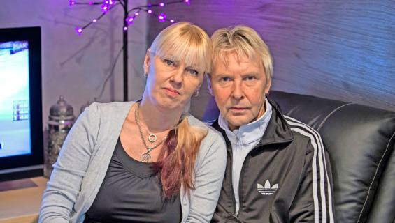 Pia Nykänen kertoo Matin hautajaisista.
