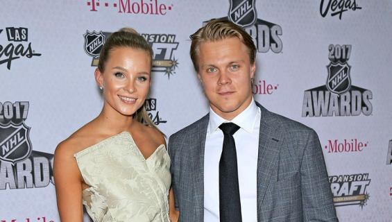 Emmi Kainulainen ja Mikael Granlund saivat perheenlisäystä.