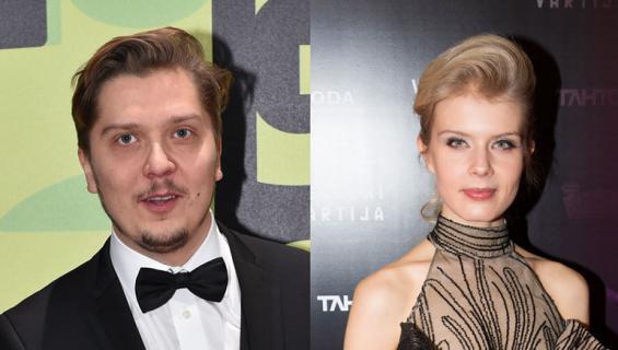 Eero Ritala ja Alina Tonnikov nähtiin Jussi-gaalan jatkoilla.