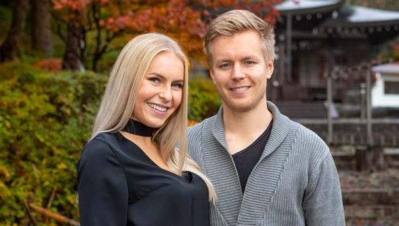Alina Voronkovan Joonas-rakas muutti Tanskaan.