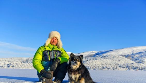 Äijä-koira sulatti Aki Huhtasen sydämen.