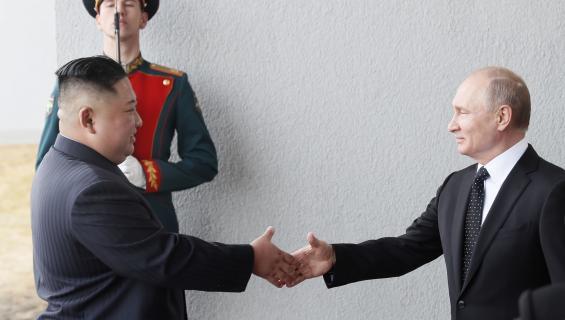 Putin Kim Jong-un