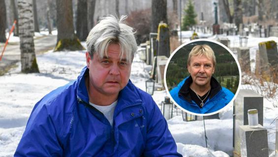 Ari Saarinen seurasi sivusta Matti Nykäsen huijaamista.