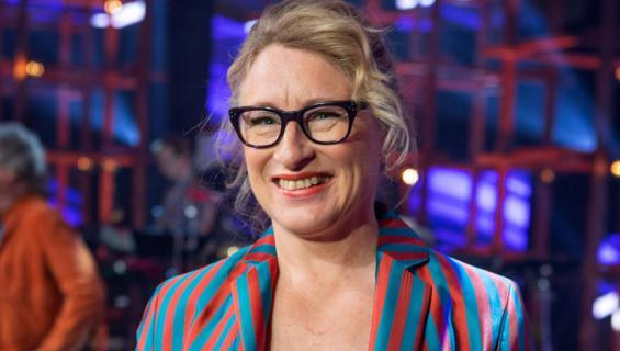 Katja Ståhl viihtyy ilman miestä.