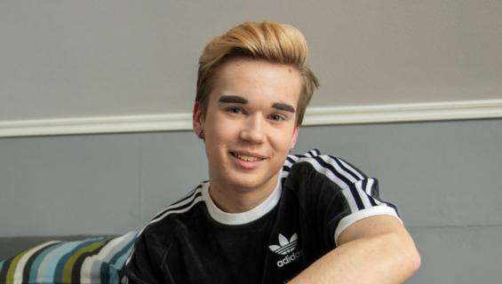 Luka on Suomen nuorin drag-tähti.