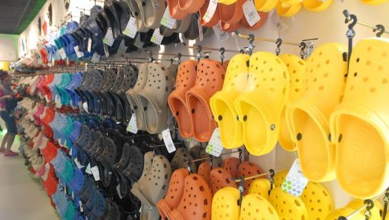 Crocseja on moneen lähtöön.