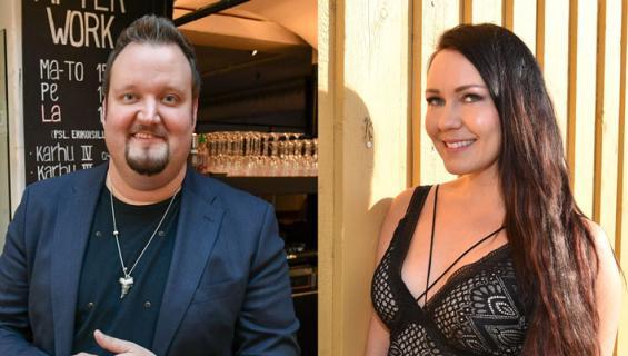 Sami Hedberg ja Saija Tuupanen nähtiin Roomassa.