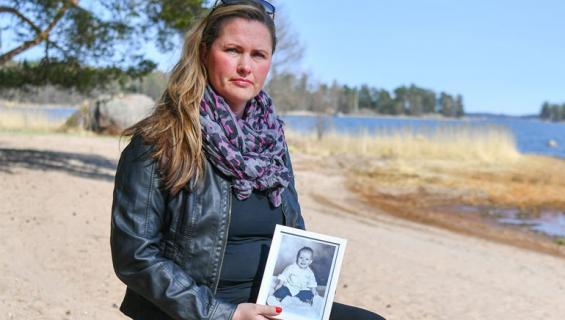Katja menetti 2-vuotiaan poikansa.