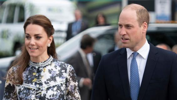 Catherinen ja Williamin kuopus otti ensiaskeleet.