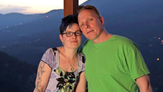 Mari ja Asko Tenhula viettivät häämatkaa Turkissa.