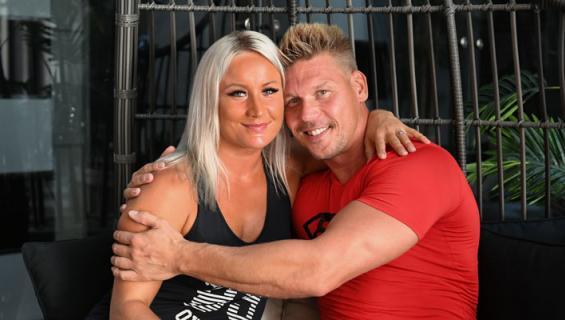 Rita ja Aki Manninen ovat onnellisia vanhempia.