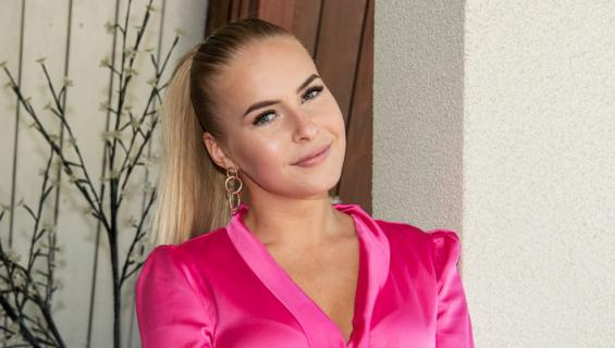 Alina Voronkova sai sakot.