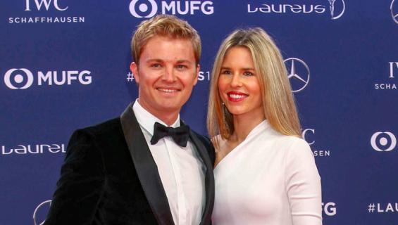 Nico Rosberg ja Vivian lomailivat.