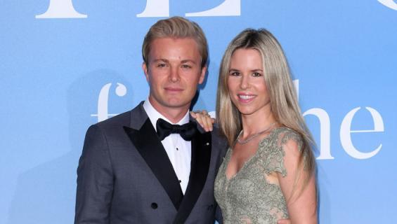 Nico Rosberg ja Vivian olivat lomalla.