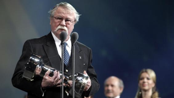 Jorma Kinnunen palkittiin Urheilugaalassa vuonna 2011 elämäntyöstään.