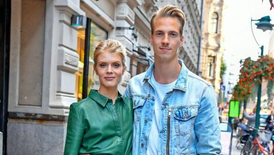 Alina Tomnikov avioitui Lauri-rakkaansa kanssa.