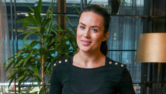 Martina Aitolehti vietti viikonlopun Etelä-Savossa.
