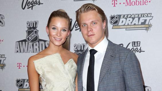 Emmi ja Mikael Granlund menivät naimisiin.