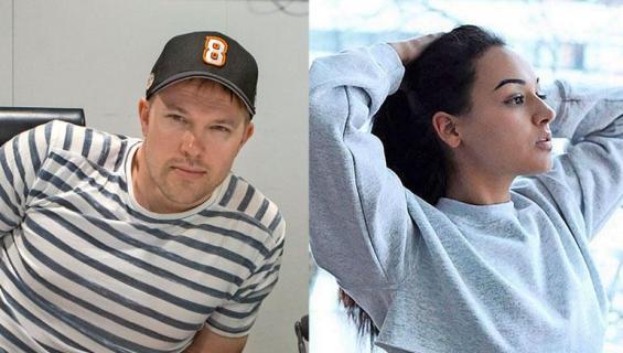 Juha Perälä ja Noora Alho