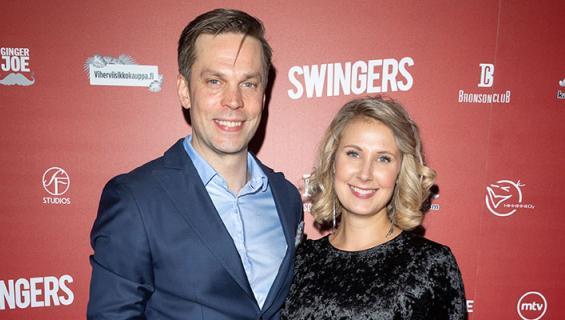 Mikko Nousiainen ja Linda Wiklund