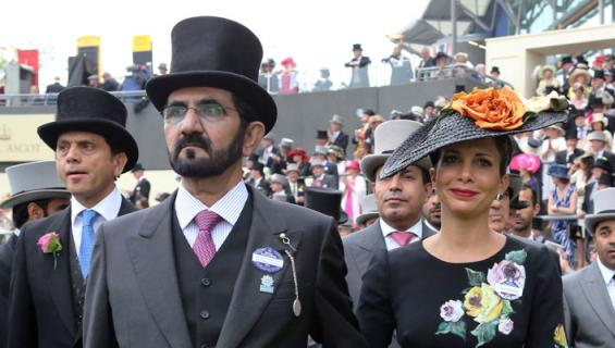 Dubain hallitsijan vaimo pakeni ja vei rahat.