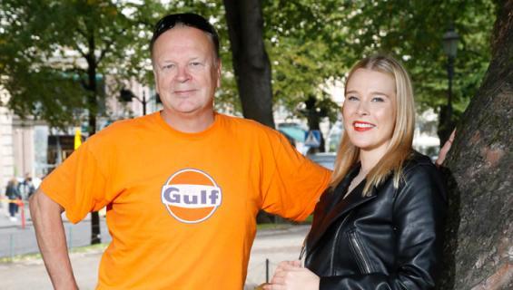 Jari Komulainen ja Milla-tytär nähdään televisiossa.