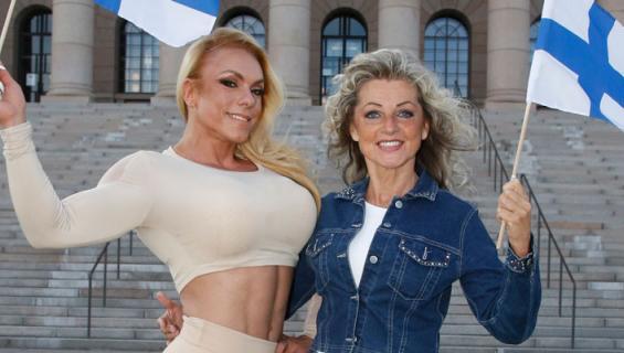 Minna Pajulahti ja Kike Elomaa lähtivät Las Vegasiin.