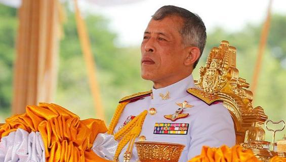 Thaimaan kuningas Rama X.