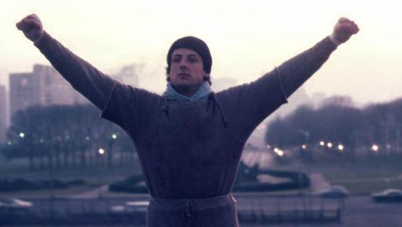 Rockyn treeni on yhä kuuluisa.
