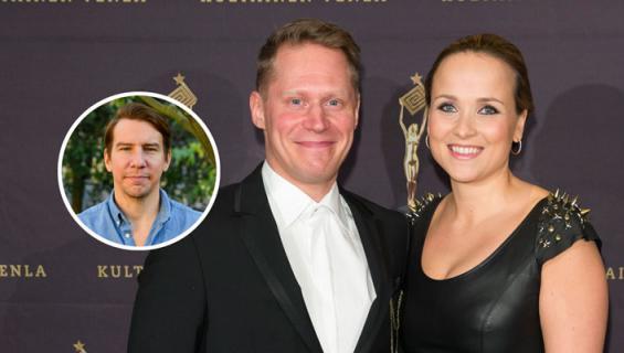 Jarkko Tamminen tapasi Sanna-vaimonsa Aku Hirviniemen kautta.