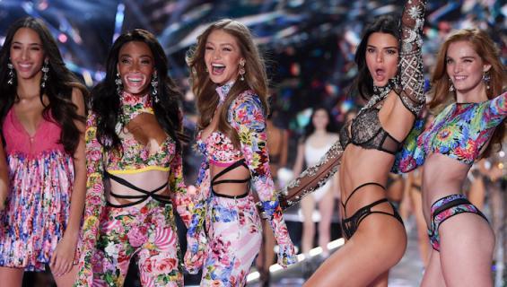 Victoria's Secretiä on syytetty kapeasta kauneusihanteesta.