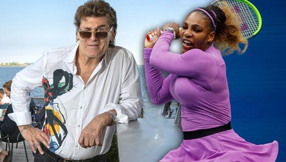 Frederik & Serena Williams.