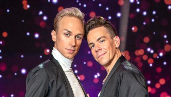 Christoffer Strandberg teki opettajansa Matti Puron kanssa historiaa olemalla ensimmäinen miespari Tanssii tähtien kanssa -ohjelmassa.