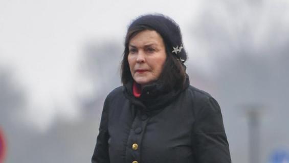Paula Koivuniemi lenkillä.