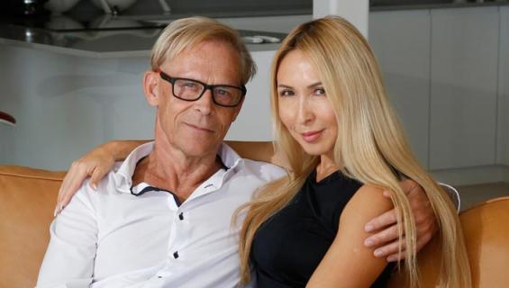 Topi ja Nadja Sukari viettivät kuherruslomansa Malediiveilla.
