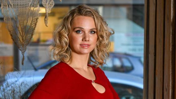 Jenna Lehtimäki pääsi Syke-sarjaan.