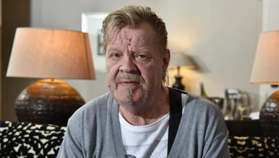 Vesa-Matti Loiri sai prätkäjätkät turvaksi.