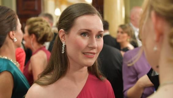 Sanna Marin on maailman nuorin pääministeri.