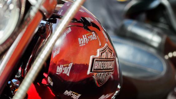 Harley-Davidsonit rikkoivat maailmanennätyksen.