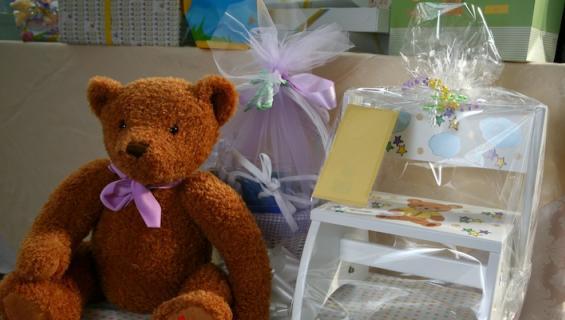 Babyshower-lahjoja