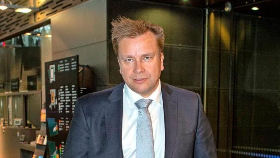 Antti Kaikkonen polski vesipuistossa.