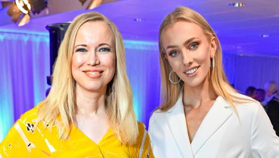 Johanna Koivu ja Anni Harjunpää.