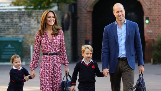 Prinssi William esittelee lapsilleen köyhiä.