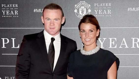 Wayne Rooneyn vaimo hämäsi salanimellä.