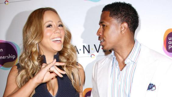 Mariah ja Nick erosivat vuonna 2014.