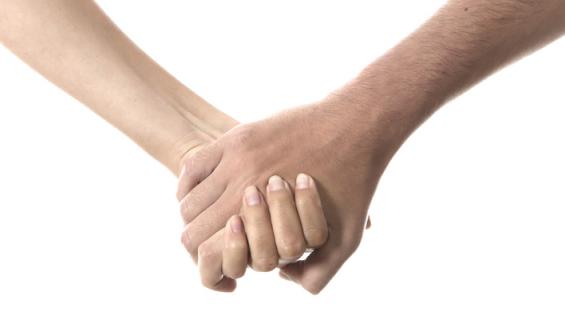 Kädestä pitäminen