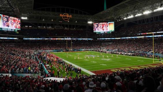 Super Bowlissa nähtiin pieni välikohtaus.