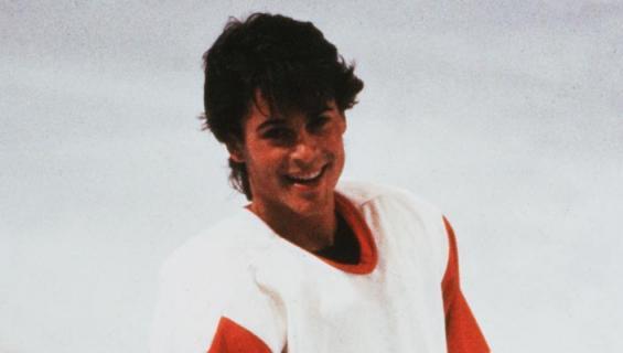 Rob Lowe näytteli Youngblood-elokuvassa.