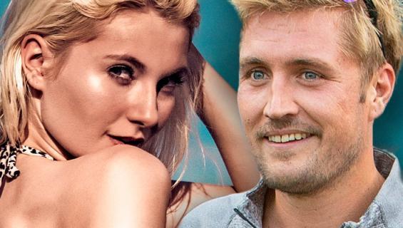 Stefan Therman ja Melissa Sten.
